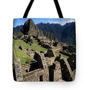 Machu Picchu Residential Sector Tote Bag