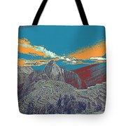 Machu Picchu Travel Poster Tote Bag