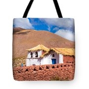 Machuca Church Tote Bag