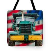 Mack Dump Truck Tote Bag