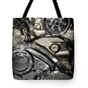 Mack Truck Display Engine Tote Bag