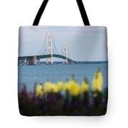 Mackinac Bridge 2 Tote Bag