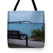Mackinac Bridge 4 Tote Bag