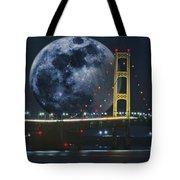 Mackinac Bridge Fantasy Tote Bag
