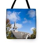 Mackinac Island Church Tote Bag