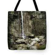 Mackinaw City Park Waterfalls 1 Tote Bag