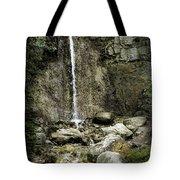 Mackinaw City Park Waterfalls Tote Bag