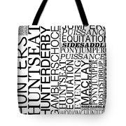 Maclay Word Art Tote Bag