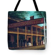 Macomb's Dam Hotel Tote Bag
