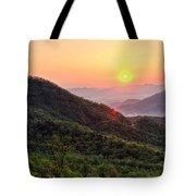 Macon County North Carolina Mountains Tote Bag
