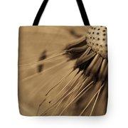 Macro - Dandelion Tote Bag