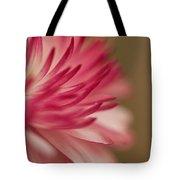 Macro - Pink Flower Tote Bag