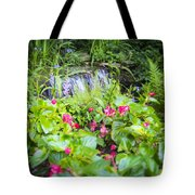 Macro Forest Tote Bag