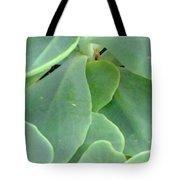 Macro Green Tote Bag