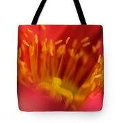 Macro Poppy 4 Tote Bag