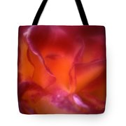 Macro Rose Tote Bag