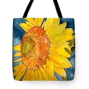 Macro Sunflower Art Tote Bag