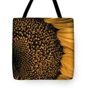 Macro Sunflower Tote Bag