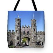 Macroom Castle Ireland Tote Bag