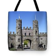 Macroom Castle Ireland Tote Bag