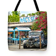Mac's Sea Garden II On Key West Florida Tote Bag