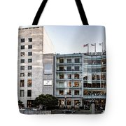 Macy's Union Square San Francisco Building Tote Bag