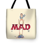 Mad Magazine Cover Tote Bag