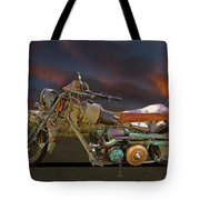 Mad Max Creater Motorcycle Tote Bag