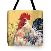 Mad Max With Poppies Tote Bag