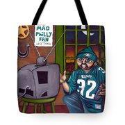 Mad Philly Fan In Texas Tote Bag