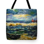 Mad Sea Tote Bag