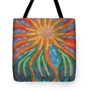 Mad Sun Tote Bag