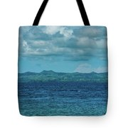Madagascar, Nosy Be, Small Boat In Sea Tote Bag
