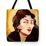 Madam Carbon Tote Bag