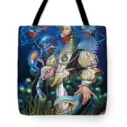 Madame Clawdia D'bouclier From Mask Of The Ancient Mariner Tote Bag