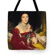 Madame De Senonnes Tote Bag by Ingres