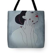 Madame Enchantee Tote Bag
