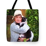 Madame Et Cookie Tote Bag