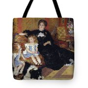 Madame Georges Charpentier Tote Bag