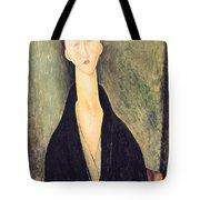 Madame Hanka Zborowska Tote Bag by Amedeo Modigliani