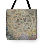 Madame Jumel's Garden Tote Bag