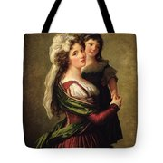 Madame Rousseau And Her Daughter Tote Bag