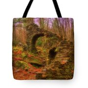 Madame Sherri Castle Ruins Tote Bag
