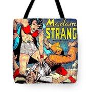 Madame Strange Comic Super Hero Tote Bag