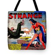 Madame Strange Female Comic Super Hero Tote Bag
