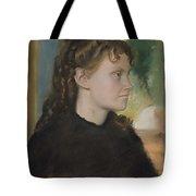 Madame Theodore Gobillard Yves Morisot, 1838-1893 , Edgar Degas French, Paris 1834-1917 Paris Tote Bag