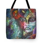 Madamoiselle By Reina Cottier Tote Bag