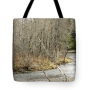 Madawaska Stream Bend Tote Bag