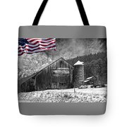 Made In America Red White And Blue Tote Bag
