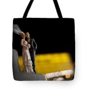 Made In China Bride And Groom Tote Bag